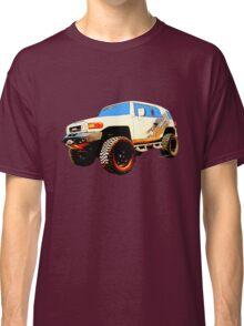 Toyota FJ Cruiser 4x4 Cartoon Panel from VivaChas Classic T-Shirt