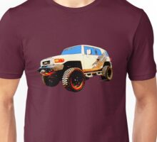 Toyota FJ Cruiser 4x4 Cartoon Panel from VivaChas Unisex T-Shirt