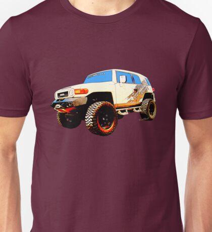 Toyota FJ Cruiser 4x4 Cartoon Panel from VivaChas Unisex T-Shirt