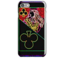 Neon Jack of Clubs iPhone Case/Skin