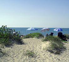Venice Beach Umbrellas by annlw582