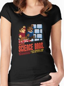 Super Science Bros Women's Fitted Scoop T-Shirt