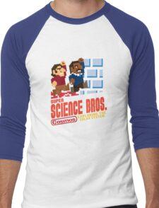 Super Science Bros Men's Baseball ¾ T-Shirt