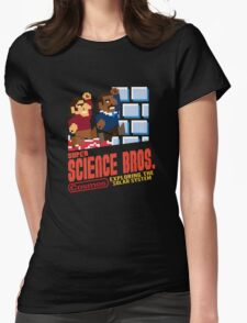 Super Science Bros Womens Fitted T-Shirt