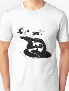 Pepe Le Pew and Penelope Love Unisex T-Shirt