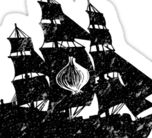 Team Seaworth (Black) Sticker