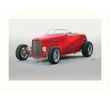 1932 Ford HiBoy Roadster V Art Print