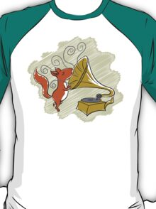 squirrel and music T-Shirt