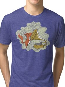 squirrel and music Tri-blend T-Shirt