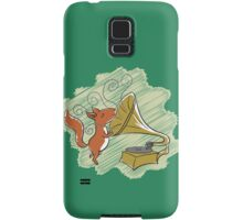 squirrel and music Samsung Galaxy Case/Skin
