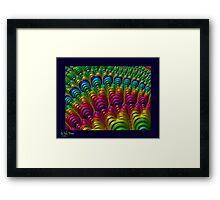 Rainbow Factory Framed Print
