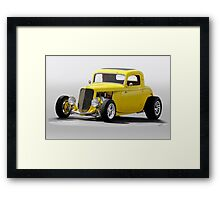 1933 Ford 'Soft Top' Coupe Framed Print