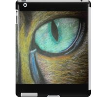 Cat's eye iPad Case/Skin
