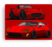 Mazda Miata MX 5 and Gt 86 Canvas Print