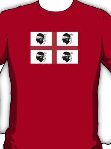 Traditional Flag of Sardinia  T-Shirt