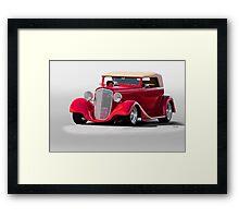 1934 Chevrolet Phaeton II Framed Print