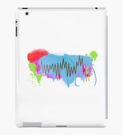 Graffiti-Waveform  iPad Case/Skin