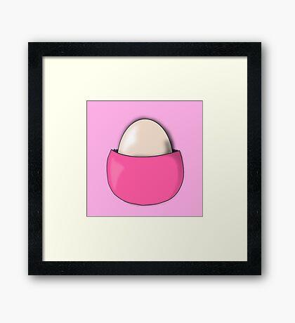 Chansey Egg Pokemon Framed Print