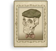 Grandpa Oliver's Driving Hat and Bow Tie Canvas Print