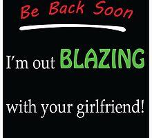 Be back soon shirt by StonerGamesInc