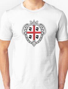 Coat of Arms of Sardinia  Unisex T-Shirt
