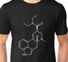LSD Molecule (White) Unisex T-Shirt