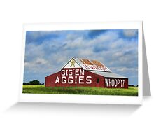 Aggie Barn Greeting Card