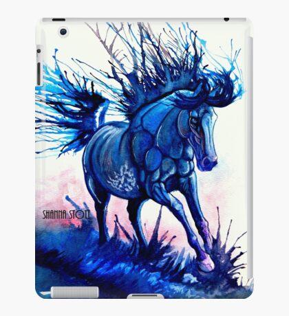 Splash Dance Running Through Water Horse iPad Case/Skin