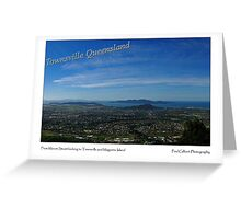 Townsville and Magnetic Island from Mount Stuart Greeting Card