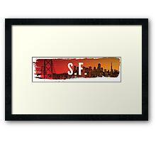 SF Framed Print