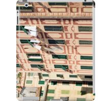 The lines and shadows of the Italian Riviera iPad Case/Skin