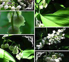 Muguet collage by MarianBendeth