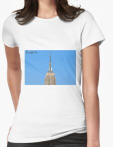 Those Deco Lines Womens Fitted T-Shirt