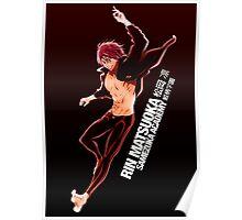 Rin Matsuoka from Free! Poster