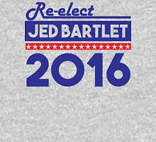 Re-Elect Jed Bartlet 2016 Bold  T-Shirt