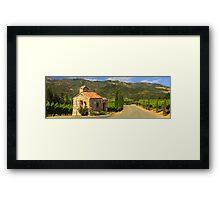 Chapel In The Vineyard Framed Print