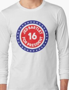 Jed Bartlet 2016 Ring Long Sleeve T-Shirt