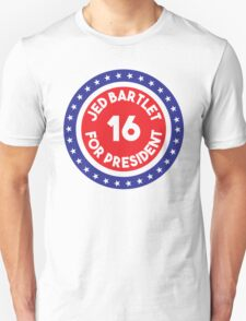 Jed Bartlet 2016 Ring T-Shirt