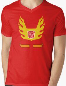 Hot Rod - Transformers 80s Mens V-Neck T-Shirt