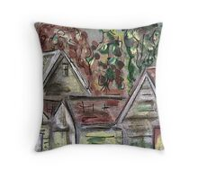 ACEO Rooftops Throw Pillow