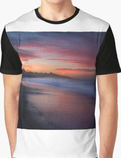 Pacific Ocean Sunrise Graphic T-Shirt