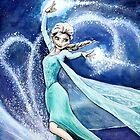 Elsa- Let it Go by ArtbyJoshua