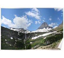 Clements Mountain East of Logan Pass Poster