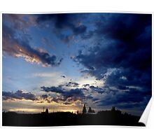 Wyoming Sunset in Southwest Wyoming  Poster