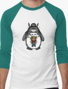 Totoro's World Men's Baseball ¾ T-Shirt