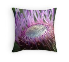 Untitled Thistle Throw Pillow