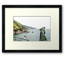 St Peter looks over the Mediterranean Framed Print