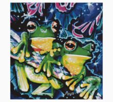 two frogs  One Piece - Short Sleeve