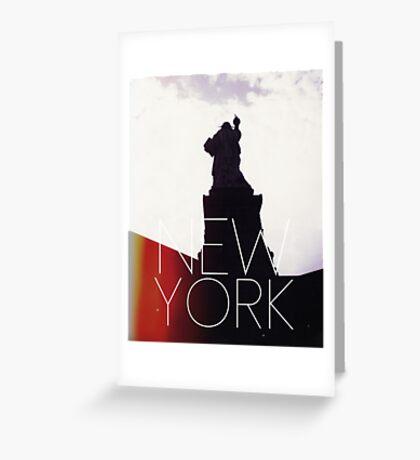 NEW YORK IV Greeting Card