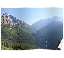 McDonald Creek - Glacier National Park Poster